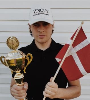 Emil vann sin första tävling på Europatouren
